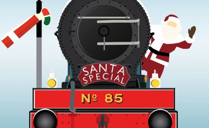 santa steam train 2019