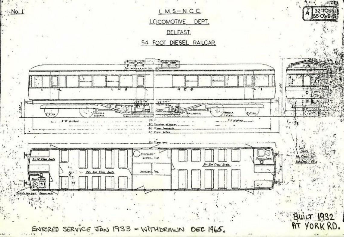 Railcar 1 on