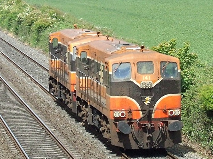 Two RPSI locomotives! In more recent times, 141 was repainted into the
