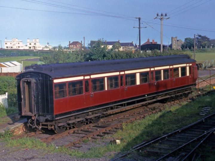 1972: 861 at Whitehead Excursion Station.
