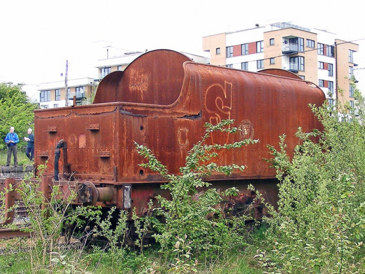 9/5/2008: GNR(I) tender 43 at Mullingar. (C.P. Friel)