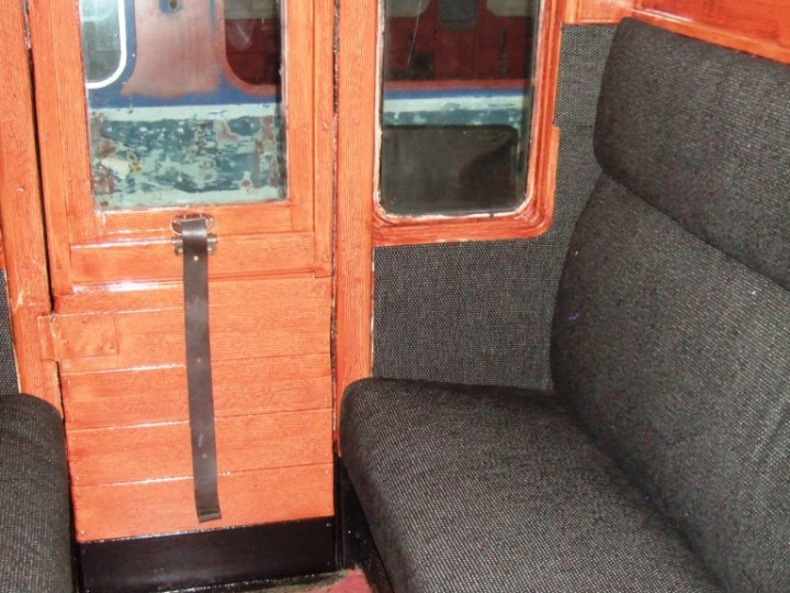 A second class compartment after restoration, 3rd March 2011. (M.Walsh)