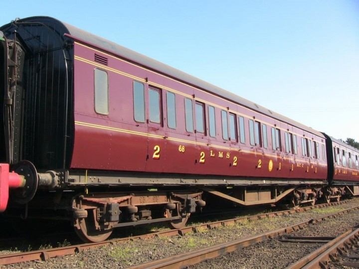 68 at Whitehead Excursion Station on 23rd April 2011. (M.Walsh)