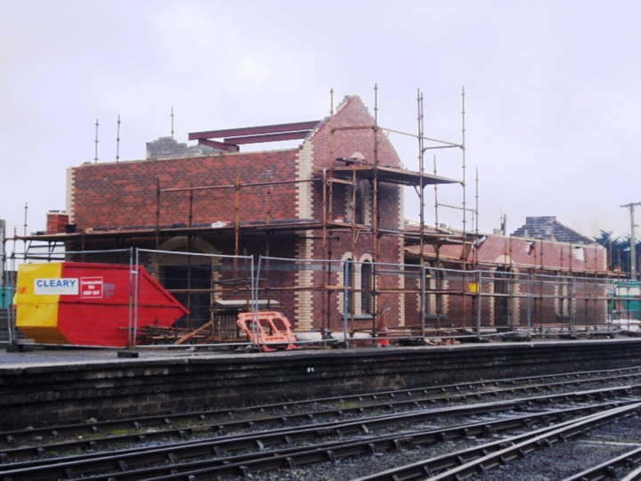 6/1/2013: The new year saw the building taking a definite shape.