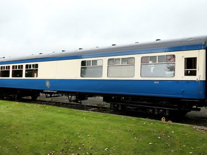 1514, shortly after emerging from the Paint Shop in Inchicore, 28/9/2014. (G.Mooney)