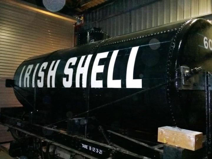602 Shell Oil Tank