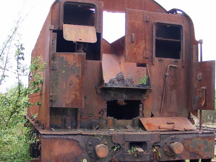 9/5/2008: GNR(I) tender 43 at Mullingar. (C.P Friel)
