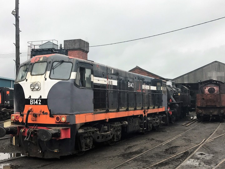 B142 Shunting at Whitehead