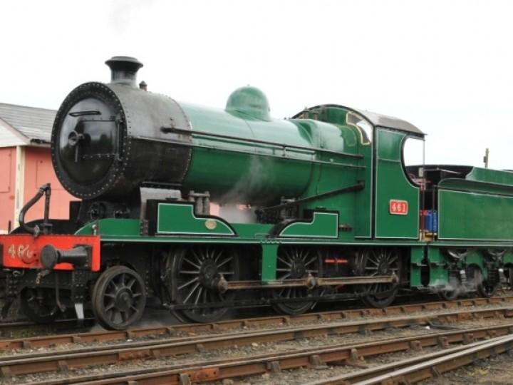 No.461 freshly repainted into CIÉ green livery, 8th September 2011. (J.J.Friel)