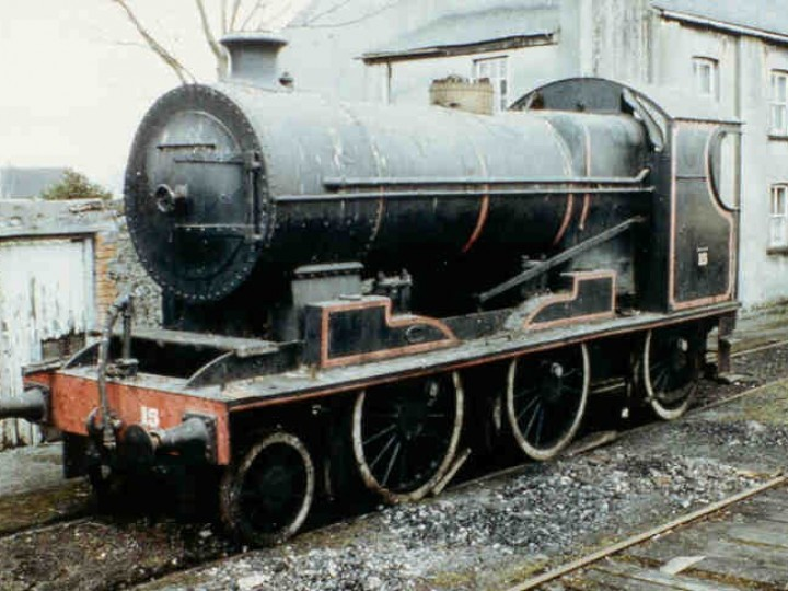 No.461 looking rather sorry for herself, as she arrived at Mullingar. (B. Pickup)