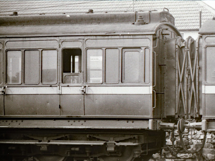 1969: 861 on the Works Train at Inchicore. (M.H.C. Baker)