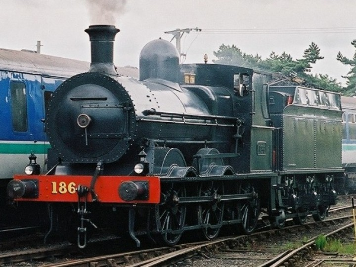 No.186 at Whitehead just after her 2004 overhaul was completed. (B.Pickup)