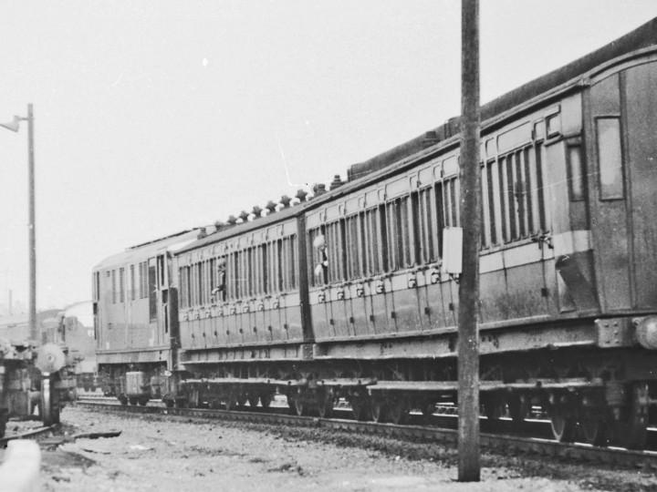 1969: 861 on the Works Train at Dublin Heuston. (M.H.C. Baker)