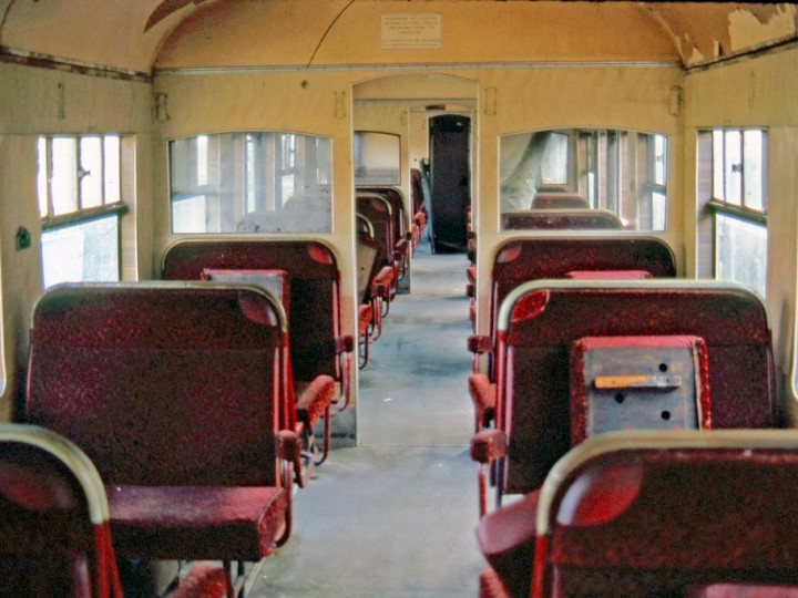 14/3/1981: The passenger interior. (C.P. Friel)