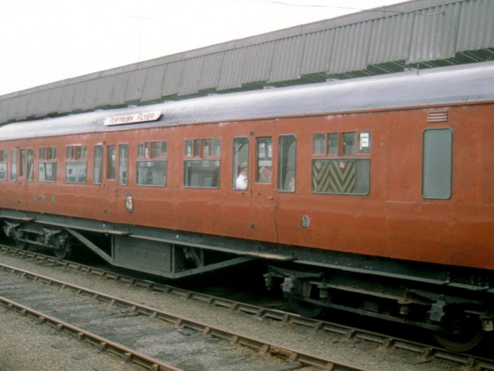 20/6/1987: 9 at York Road for 50th Flyer. (C.P. Friel)