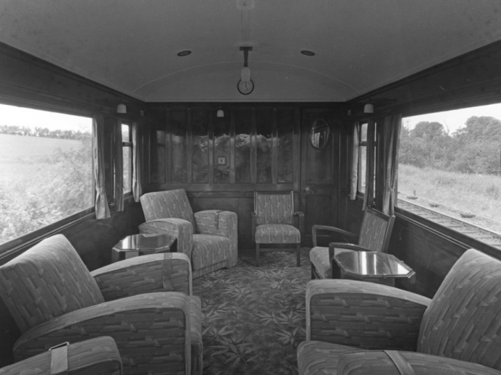 The small saloon, 29/7/1944. (Duffner W126A)