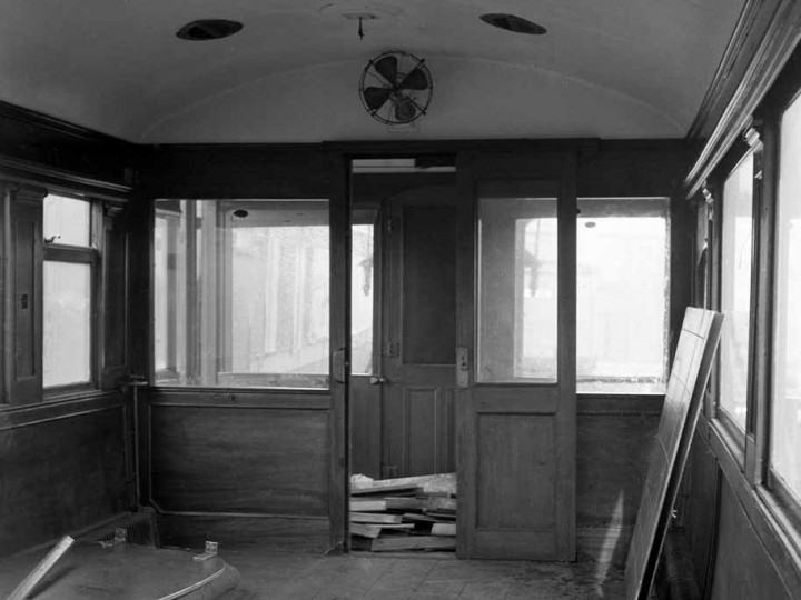 The saloon interior, Whitehead 7/4/1973. (C.P.Friel)