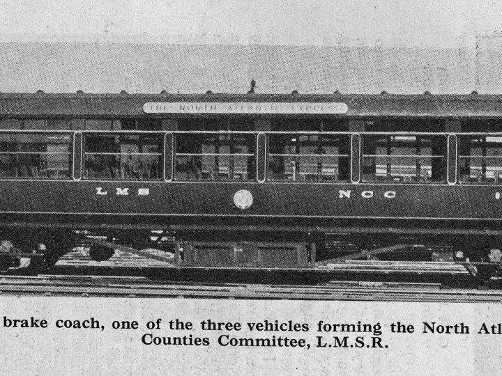 A scan from the April 1934 Railway Magazine, showing 91 as delivered new.