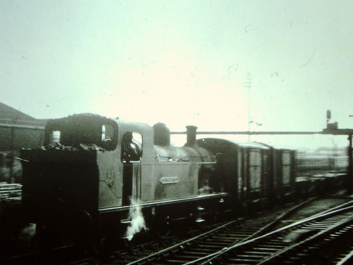 1966: No.27 shunting at York Road. (M. Birchenough)