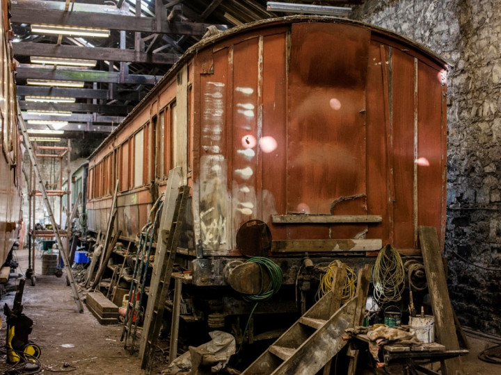 Another view of 837 (530A) in Mullingar shed.